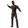 Marvels Civil War Deluxe Mens Black Panther Costume